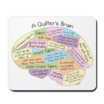 Quilter's Brain Mousepad
