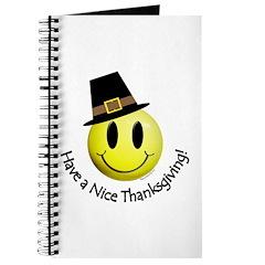 Thanksgiving Smiley 1 Journal