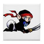 Ninja Baby Tile Coaster