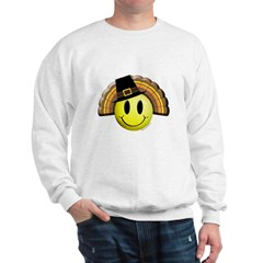 Thanksgiving Smiley 4 Sweatshirt