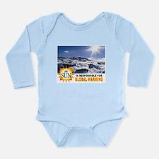 GORE'S FOLLY Long Sleeve Infant Bodysuit