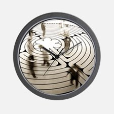 Grace St. Paul's Labyrinth Wall Clock