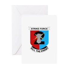 DUI - 2nd Stryker BCT Greeting Card
