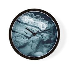 Molino Falls Blue Wall Clock