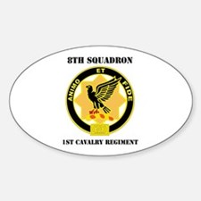 DUI - 8th Sqdrn - 1st Cavalry Regt with Text Stick