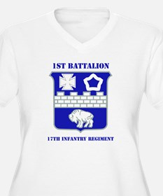 DUI - 1st Bn - 17th Infantry Regt with Text Women'