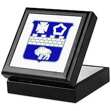 DUI - 1st Bn - 17th Infantry Regt Keepsake Box