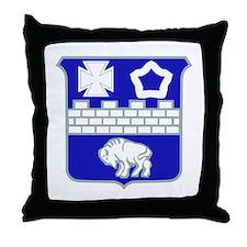 DUI - 1st Bn - 17th Infantry Regt Throw Pillow