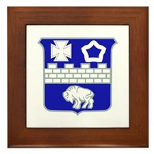 DUI - 1st Bn - 17th Infantry Regt Framed Tile