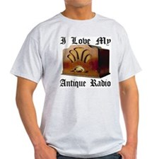 I Love My Antique Radio T-Shirt