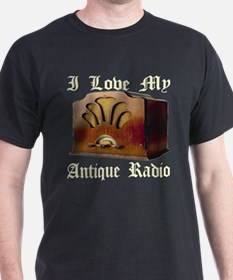 I Love My Antique Radio T-Shirt