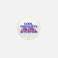 COOL THOUGHTS Mini Button (10 pack)