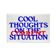 COOL THOUGHTS Rectangle Magnet (100 pack)
