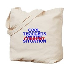 COOL THOUGHTS Tote Bag