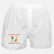 Pant's Off, Dance Off Boxer Shorts