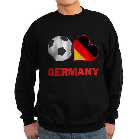 German Soccer Fan Sweatshirt (dark)