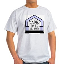 Radio Daze Big Band Ash Grey T-Shirt