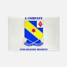 DUI - A Company - 52nd Infantry Regt with Text Rec