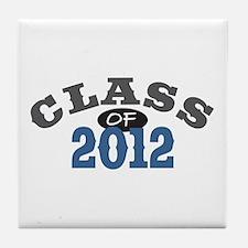 Class Of 2012 Blue Tile Coaster