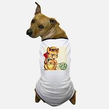 Vintage Valentines Day Kitten Dog T-Shirt