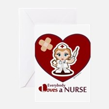 Unique Charge nurse Greeting Card