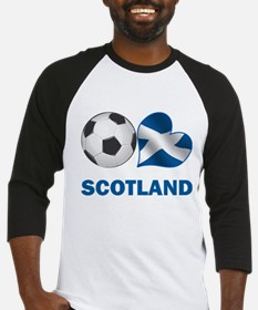 Scottish Soccer Fan Baseball Jersey