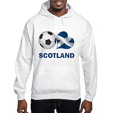 Scottish Soccer Fan Hooded Sweatshirt