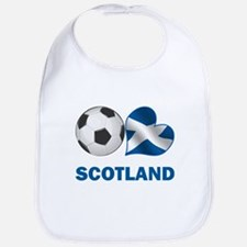 Scottish Soccer Fan Bib