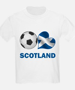Scottish Soccer Fan T-Shirt