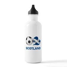 Scottish Soccer Fan Sports Water Bottle