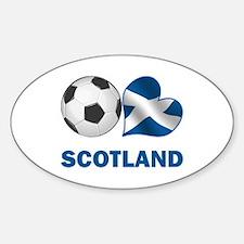 Scottish Soccer Fan Decal