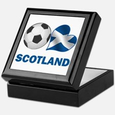 Scottish Soccer Fan Keepsake Box