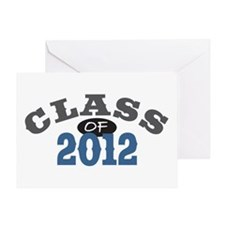 Class Of 2012 Blue Greeting Card
