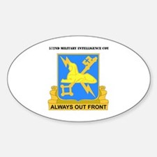 DUI - 572nd Military Intelligence Coy with text St