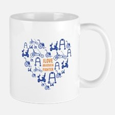 I love an ataxia fighter 1 Mugs