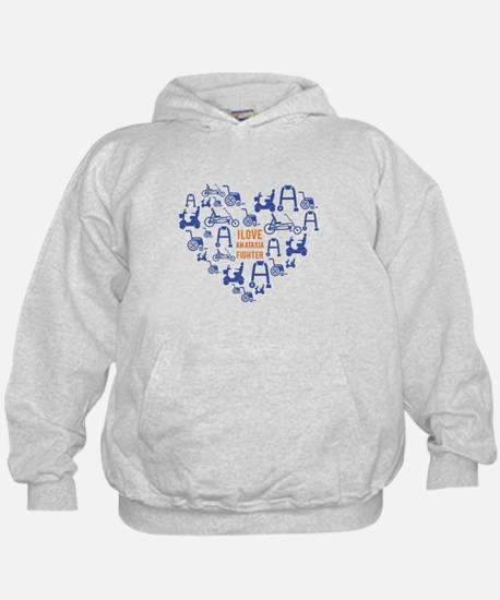 I love an ataxia fighter 1 Sweatshirt