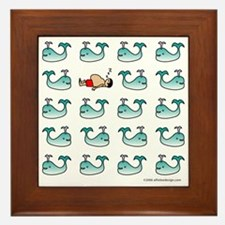 One of These Mammals!(Man) Framed Tile