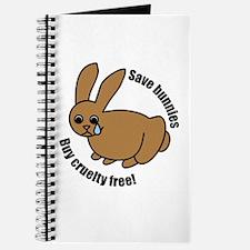 Save Bunnies Cruelty-Free Journal