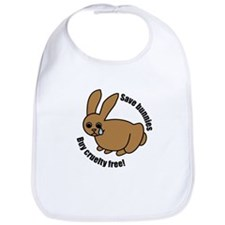 Save Bunnies Cruelty-Free Bib