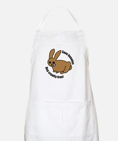 Save Bunnies Cruelty-Free BBQ Apron