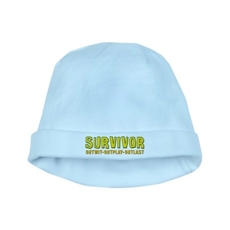 Survivor Outwit Outplay Outlast baby hat