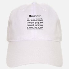 The Definition of Hungover Baseball Baseball Cap