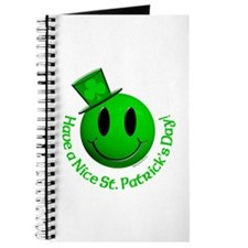 St. Pats Smiley Journal