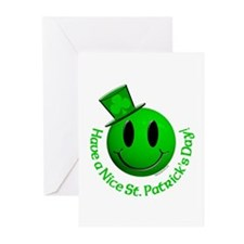 St. Pats Smiley Greeting Cards (Pk of 20)