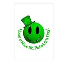 St. Pats Smiley Postcards (Package of 8)