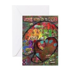 Every Child is An Artist Greeting Card