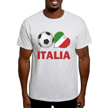 Italian Soccer Fan Light T-Shirt