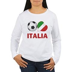 Italian Soccer Fan T-Shirt