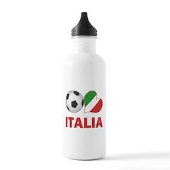 Italian Soccer Fan Water Bottle