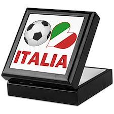 Italian Soccer Fan Keepsake Box